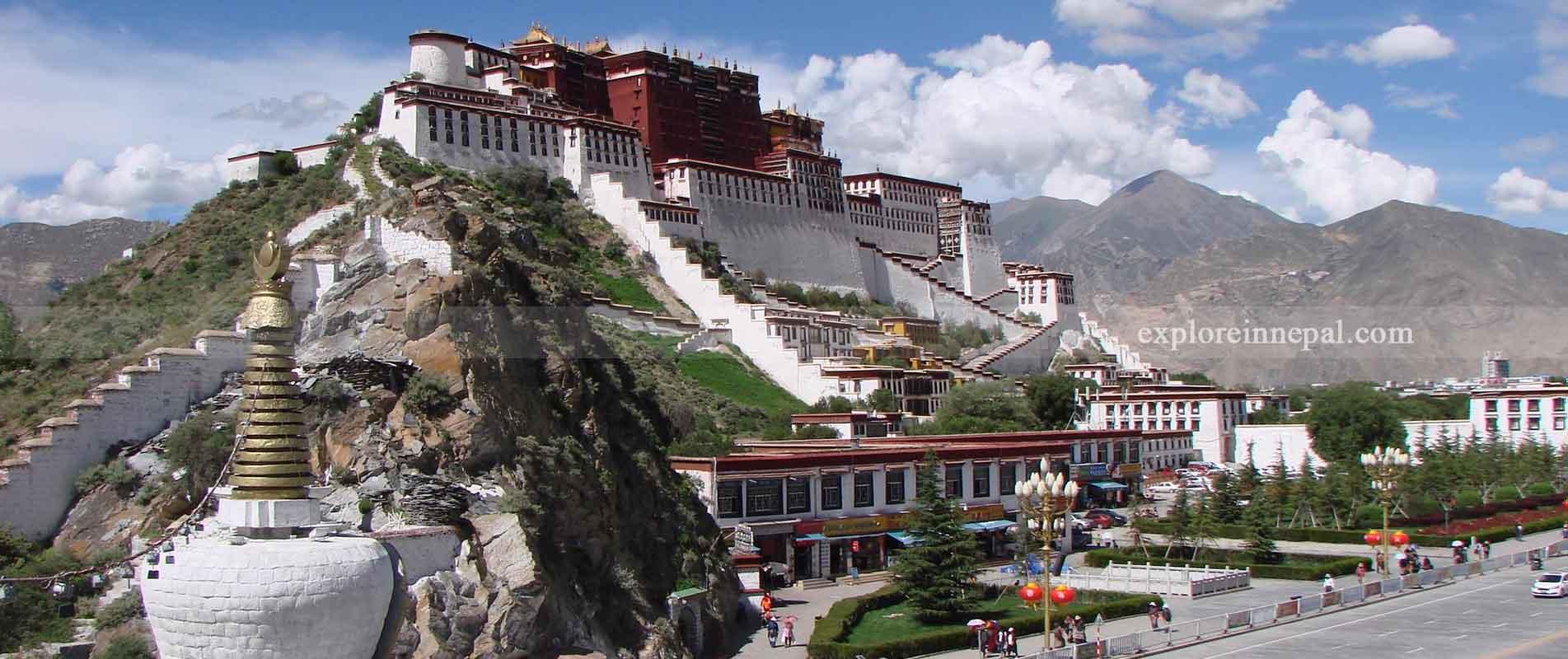 Potala place lhasa ,tibet ,china