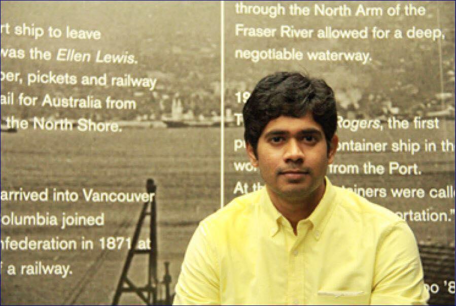 Saurav from Canada