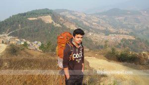 On the way to Chisapani from Nagarkot -Nepal