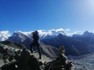 top of Gokyo ri
