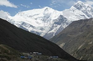 Annapurna III view from Pisang
