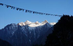 one the way Kanchenjunga base camp