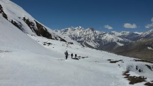 One the way back to Muktinath from Thoronga la pass