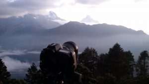 Ghorepani ponhill viewpoint