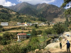 Jhumbesi villages in pikey peak trek