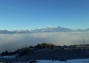 Pikey peak viewpoint (alt. 4065m)
