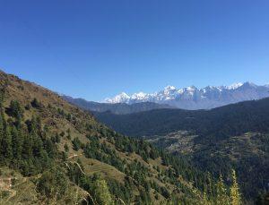 Everest region mountains